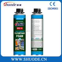 Manufacturer of super strong water proof spray pu foam polyurethane adhesive