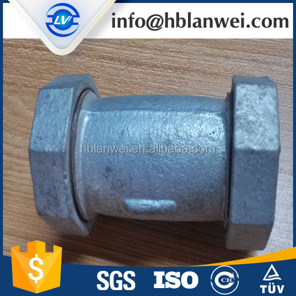 Hexagon Round Head Code and Female Connection pipe fitting johnson coupling