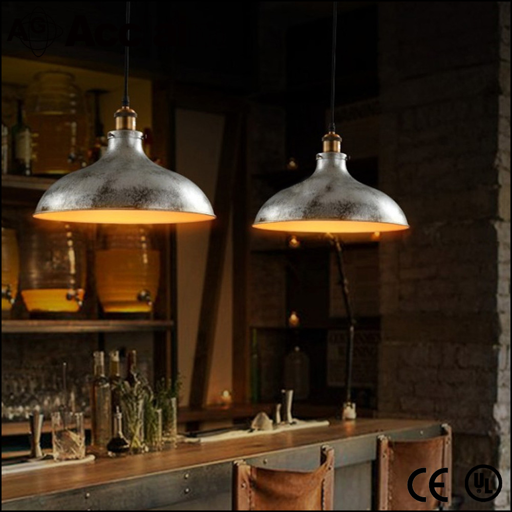 American Style Iron Made Dining Room Retro Lamp Loft E27 Edison Bulb Industrial Vintage Chandelier
