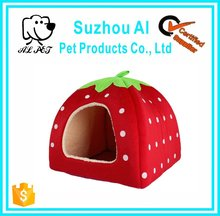 Strawberry Small Cotton Soft Dog Bed