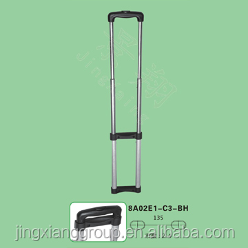 Guangzhou JingXiang Leisure Luggage Handle Parts Bag Trolley Handle For Luggage Frame With Wheels