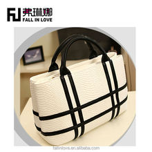 New designed style women brand tote handbag lady hand bag high quality PU bag fashion handbag made in china manufacture