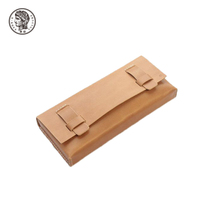 Beautifully Finished Luxury Hot Sell Foldable Pu Leather Glasses Case
