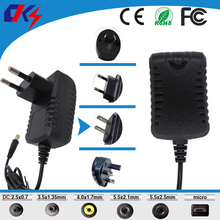 6V1A New AC 100V-240V 6W Converter power Adapter DC 6V 1A Power Supply EU/US/UK Plug DC