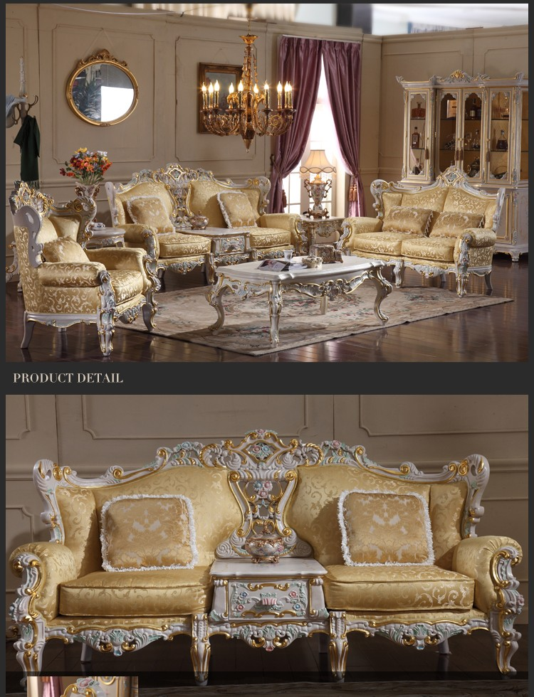 Luxury Classic Home Furniture Antique Style Hand Carved