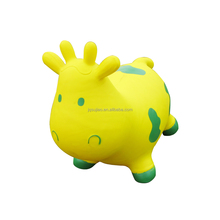 Bouncing Hopper Cow,Inflatable Jumping animal