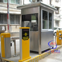 Environmental protection portable guard house stainless steel sentry box security house