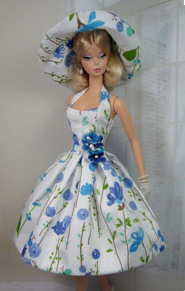 11.5 inch fashion barbie doll dress for doll outfit