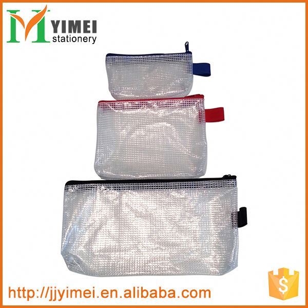 wholesale Customized PVC different types clear plastic document file folder bag