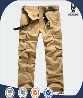 Men's Hot Military Cargo Work Multi-pockets Pants Casual Fitted Long Trousers