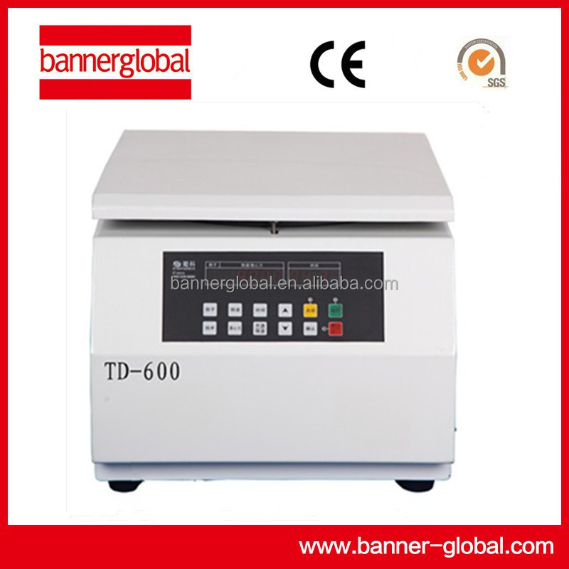 TD-600 tabletop low speed blood laboratory centrifuge machine