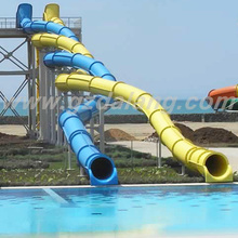 Twister fiberglass water slide for sale