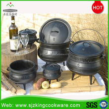 Three Legged Cast Iron Potjie Pot Cauldron