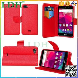 Slim fashion wallet case for BLU Dash X Plus luxury cell phone cover