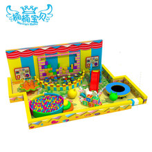Boys and girls soft indoor playground equipment children like play