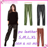 OEM Accepted In Stock Top Sale Leather Sex Pants
