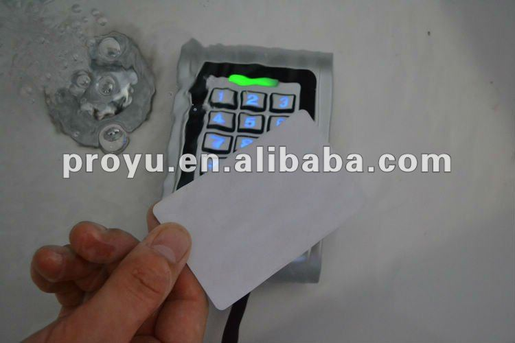 metal Shell IP68 waterproof rfid door entry system PY-S100