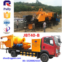 trade assurance concrete mixer pump truck