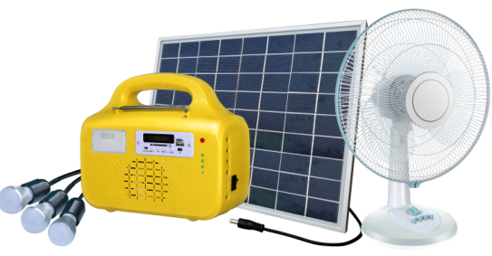Portable 10W 20W 30W solar generator solar powered <strong>electricity</strong> generator can support fan for home use