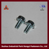 High Quality DIN6921K Hex Flange Head M16 Bolt Dimensions