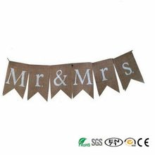 Durable new coming coconut banner burlap