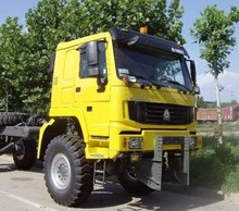 Steyr HOWO 6x4 6x6 4x4 All-Wheel-Drive Off Road Trailer Tractor Truck