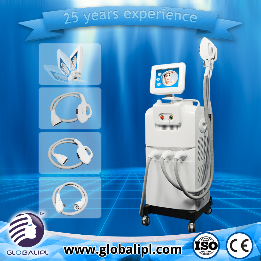 Hot new products fast freckles remove hair removal ipl galvanic facial beauty machine
