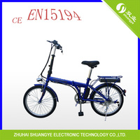 2014 long range electric bicycle with folding pedal