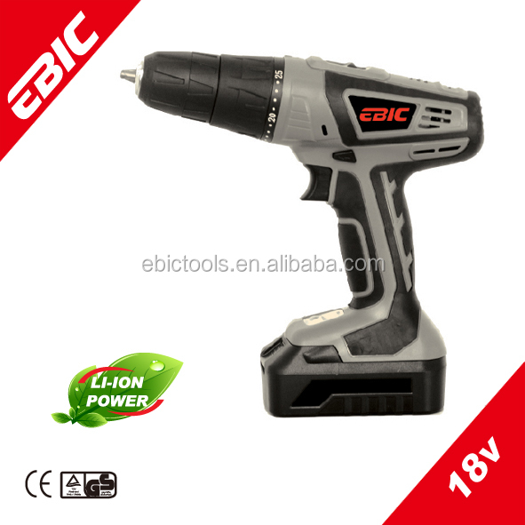Power Tools Power <strong>Max</strong> 18V Cordless Drill