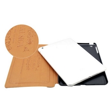 Customized promotional leather pouch case for ipad air