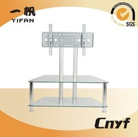 fashionable design stainless steel tv stand,lcd tv stand with new design