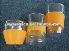 silicone rubber cup sleeve for heat resistant and protection