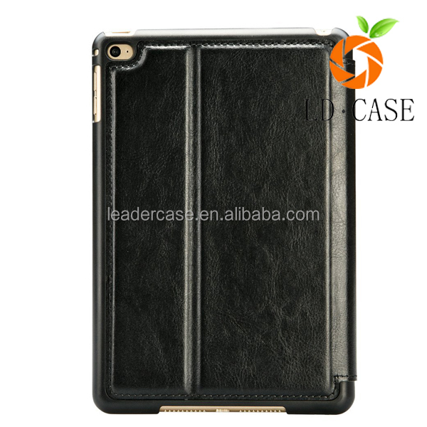 Business Style Leather Flip Cover Auto Wake/ Sleep Smart Case for ipad air