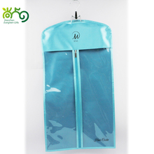 Satin Hair extension garment bag with wig hanger