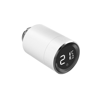 Manufacture Bluetooth Tuya ZigBee Wifi wireless smart TRV programmable radiator valve automatic heating thermostat