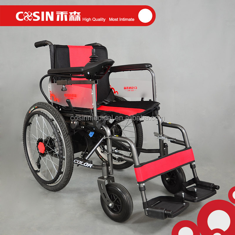 Cosin Cheap Price Electric Motor Powered Wheelchair For