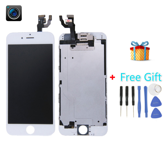 iPartsBuy for iPhone 6 (Camera + LCD + Frame + Touch Pad +Free Gift ) Digitizer Assembly