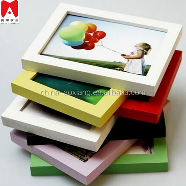 China factory 4x6 5x7 6x8 8x10 A4 size Wooden PS MDF acrylic photo frame