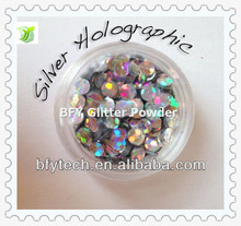 2013 Best Seller Silvery Holographic glitter sequins