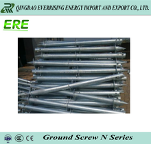 Manufacturer sell Big spiral ground screw pile For Pv Panel Solar Mounting