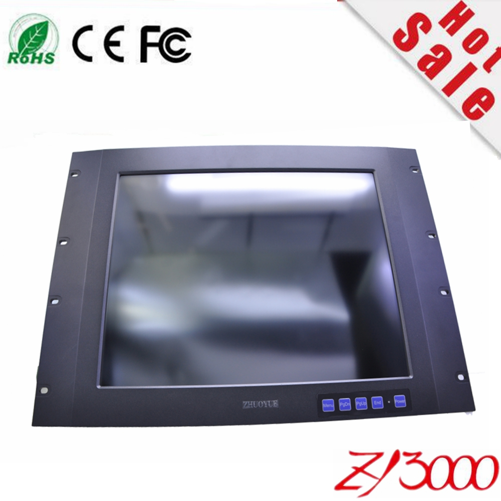 17 inch lcd double sided computer monitor frameless touch screen monitor