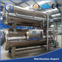 Full automatic ATD series horizontal steam water spray retorts