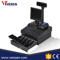 Factory wholesales cheap supermarket pos machine all in one pos system with high quality
