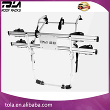 Hot selling Foldable carrying 2 Bicycles rear hitch bike racks for SUV hatchback