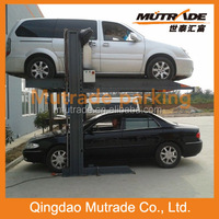 Mutrade car elevator duplicator electro-hydraulic mid-rise low profile lift
