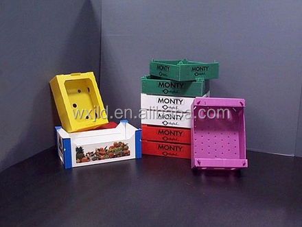 refrigerator pp plastic packing box used for tomato,meat,banana etc