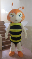 Cartoon role hot selling Bee used popular mascot costume