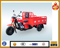 Air Cooling high quality heavy load diesel powered adult tricycle