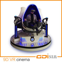 motion ride cinema 9d vr simulator with 6 special effects