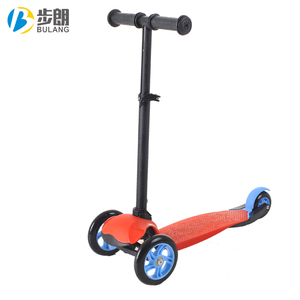 2019 newest outdoor stepper scooter 3 wheel portable kids scooter
